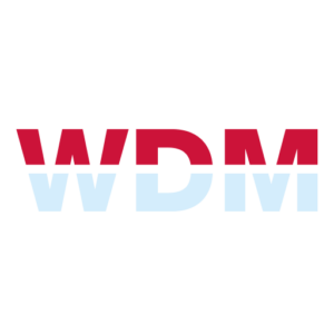 červenomodré logo WDM We Do Marketing