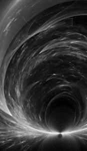 Hra světla, černobílá fotografie